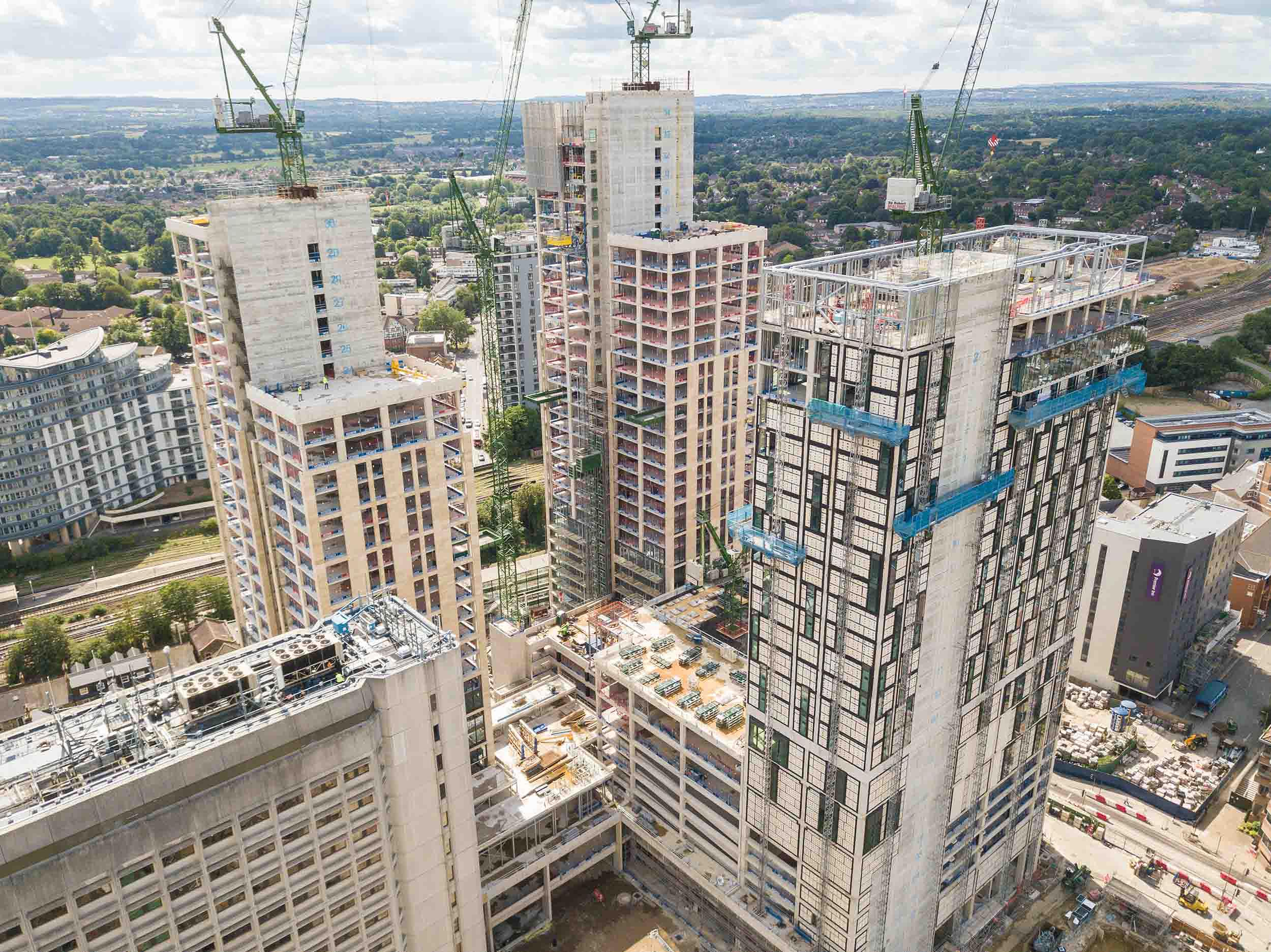 aerial-photography-high-rise-construction-london-england