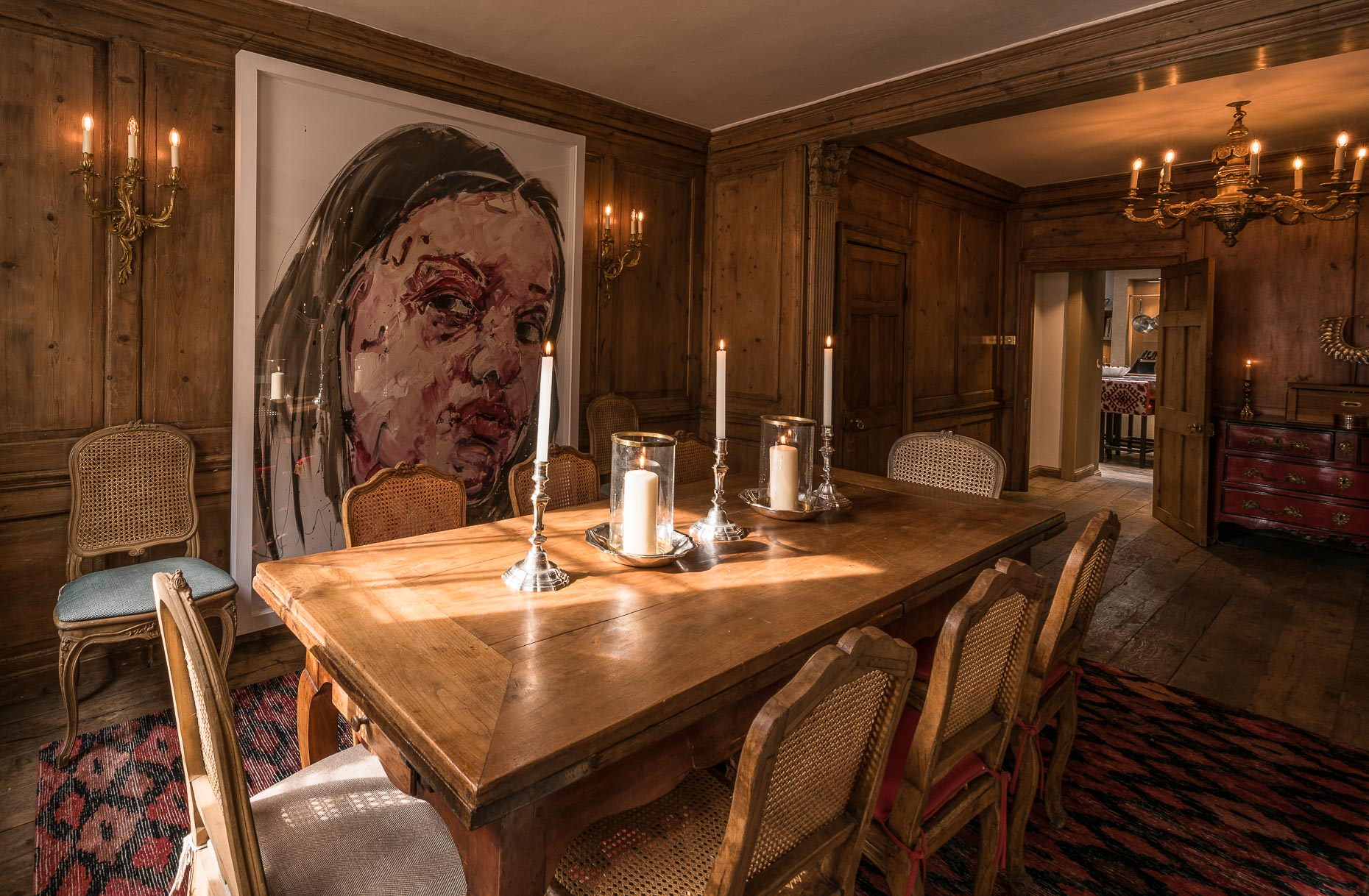 eclectic-interior-dining-room-design-wooden-panels-chelsea-london-photographer-06