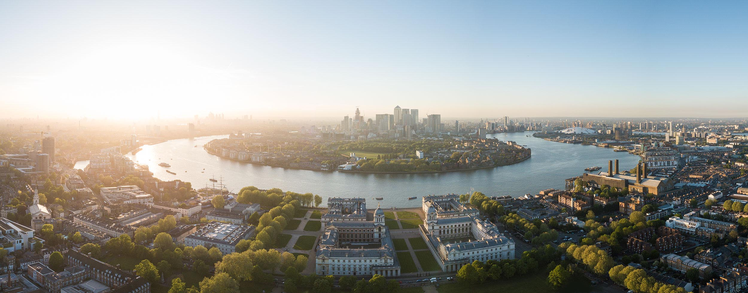 maritime-musuem-greenwich-park-london-uk-aerial-picture