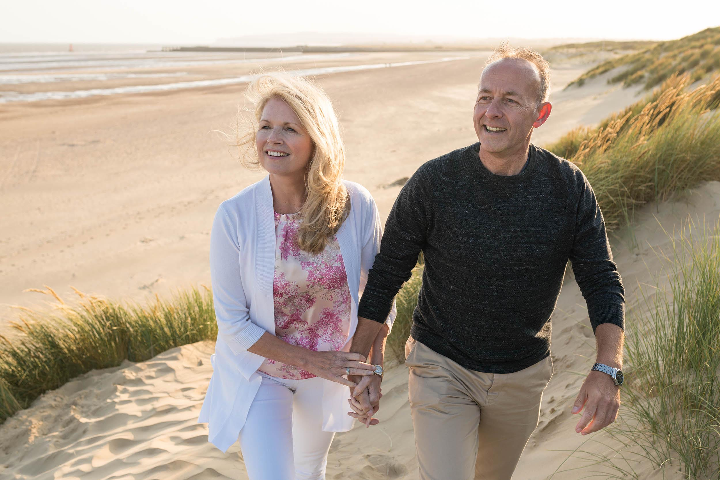 senior-lifestyle-photography-shoot-couple-holiday-beach-vacation-kent-uk